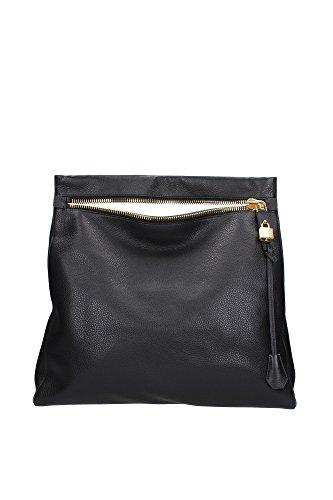 Handtasche Tom Ford Damen Leder Schwarz L0667TGLTBLK Schwarz 10x39x42.5 cm