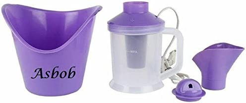 Asbob Naulakha Vaporizer Console All In One Facial Sauna Steamer (Purple)