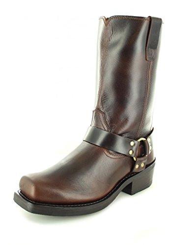 FB Fashion Boots Durango Boots Harness DB514 D Brown/Herren Bikerstiefel Braun/Motorradstiefel/Biker Boots Brown (Weite D)