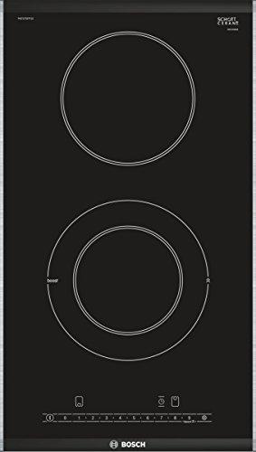 Bosch PKF375FP1E Serie 6 / Kochfelder (Elektro/Einbau) / 30,6 cm/Glaskeramik