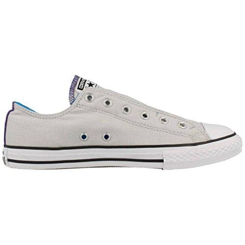 CONVERSE 651764C mouse/spray scarpe unisex ctas slip basse elastico Grigio