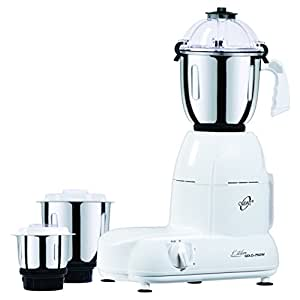 Orpat Kitchen Gold 750-Watt Mixer Grinder, White