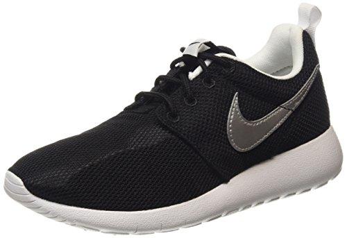 Nike Roshe One (Gs), Scarpe indoor multisport bambini Nero Nero (Black 021) 38