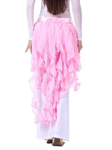 Fox Costume De Danse - Dance Fairy rose renard à neuf queues