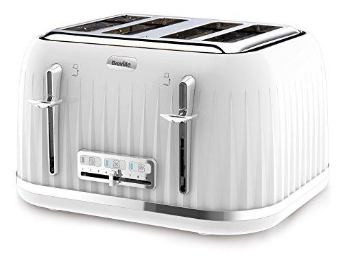 Breville VTT470 Impressions 4 Slice Toaster – White