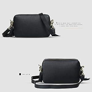 41e64zPQihL. SS300  - Leathario Bolsos Hombro Bandolera Cuero Pequeño Vintage para Mujer Bolsa Moda Shoppers de Mano Totes Escolar Crossbody…