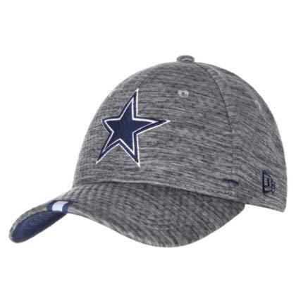 Dallas Cowboys New Era Herren Trainingsmütze 39Thirty, Herren, Graphit, S/M (Baseball-kappen Nfl Cowboys)