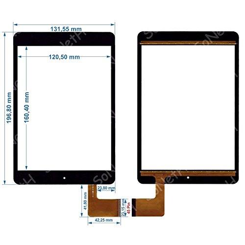 """Vetro Touch screen Digitizer 7,85"""" AUDIOLA TAB-0478 usato  Spedito ovunque in Italia"""