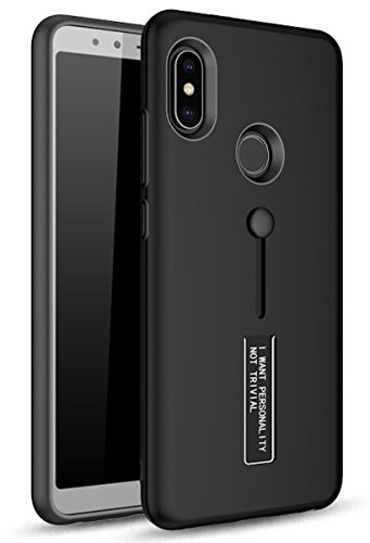size 40 32a4c a9bc2 BestTalk Redmi Note 5 Pro Extreme Shock Absorption Tough Armor Case with  Inbuilt Stand & Hand Holder Strap for Redmi Note 5 Pro