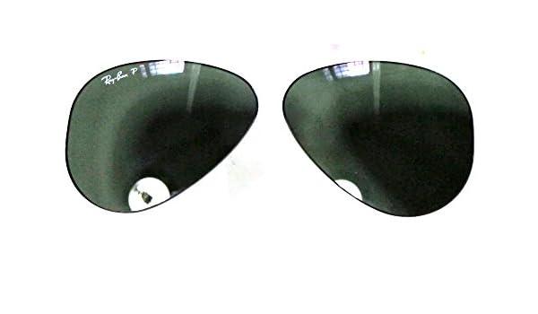 1609a78d68fb4 Ray-Ban LENTI AVIATOR CALIBRO 55 COLORE 58 G15 VERDE POLARIZZATO GREEN  POLARIZED ...  Amazon.it  Abbigliamento