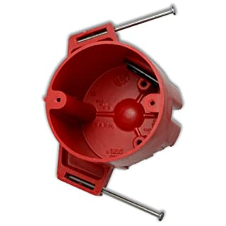 Allied Moulded 9335=NKRED Red Fire Circuit Fiberglass Box