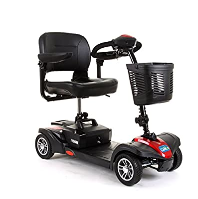 CareCo Zoom Travel Mobility Scooter - 4 Wheel Portable Car Boot Scooter
