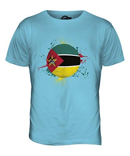 CandyMix Mosambik Fußball Herren T Shirt Himmelblau