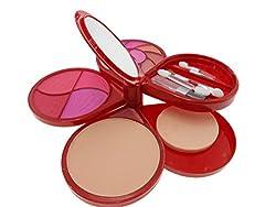 Kiss Beauty Fashion Colour Kit With Eye Shadow Blusher Powder Etc-8911-DFXZGCI