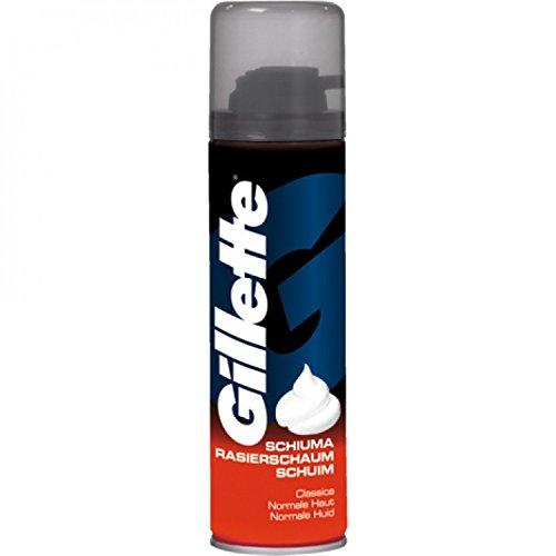 Gillette-schaum (Gillette Basis Rasierschaum für normale Haut 300 ml, 3er Pack (3 x 300 ml))