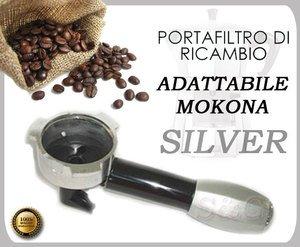 Siebträger Filter Silver für Mokona BIALETTI Gaggia G107Neu