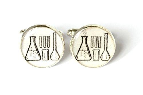 Science Laboratory Cufflinks