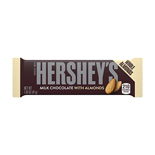 2x Hershey's Milk Chocolate with Almonds aus den USA (Adult Chocolate Bar)