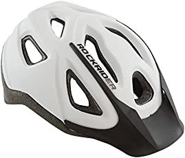 Btwin ST 100 Mountain Bike Helmet - White