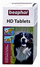 Beaphar HD Tablets (Dogs Supplements) for Dogs with Weaker Joints, Helps Remove Joints Pain, 100 Tablets
