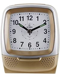 Horo Crescendo Alarm Glow In The DarkLight & Snooze Alarm Clock 7.9x4.3x10cm