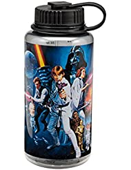 Vandor 99475 Star Wars Yoda 32 oz botella de agua Tritan, multicolor Star Wars: