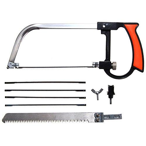 Wuchance Multifunktions Hand DIY Sägen Set Kit Handwerkzeuge Cutter Für Glas Holz Metall (Säge Kit Metall)
