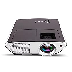 WOXAN WX-07 projector 2000 lumens led projector with HDMI / AV / VGA / USB / TV