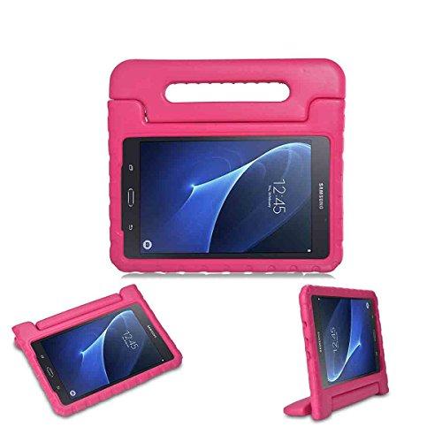 Ich–Original Kinder Schutzhülle für Samsung Galaxy Tab A 25,7cm 2016Tablet–Stoßfest Schutzhülle zusammenklappbar Tragegriff leichter EVA-Schutzhülle mit Ständer (Samsung Kurve Galaxy)