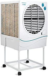 Symphony Jumbo 70 Desert Air Cooler 70-litres, with Trolley, Powerful Fan, 3-Side Cooling Pads, Whisper-Quiet