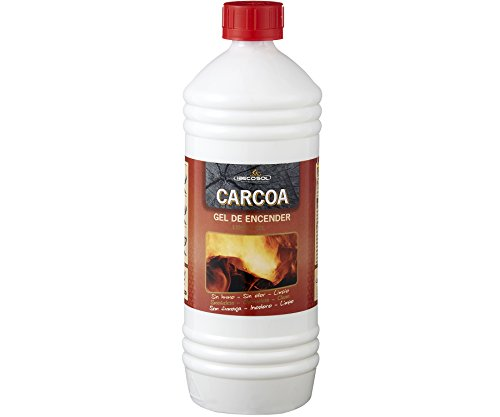 Carcoa Fuego 0319 Gel de Encendido 1 LT, Rojo, 12.5x8x8 cm