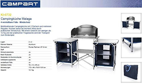 Campart Travel Campingküche KI-0732