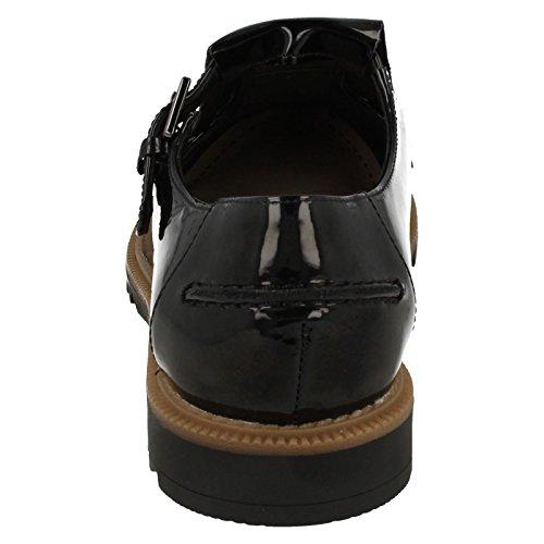 Chaussures Casual Pour Femmes Mia Griffin Clarks Noir