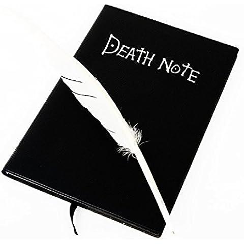 Malloom® Death Note Taccuino & penna penna libro Diario Anime del Giappone scrittura ufficiale