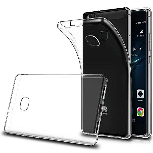 Funda Huawei P9 Lite ( Pack of 2),Simpeak Carcasa Huawei P9 Lite Silicona TPU Transparente ,Cover Huawei P9 Lite, Funda P9 Lite ,Carcasa P9 Lite, Cover P9 Lite