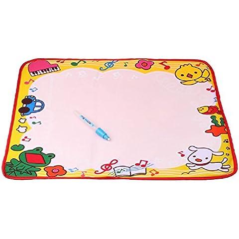 Fortan Dibujo De Agua De Pintura Escritorio Placa Magic Pen Doodle Niños Juguete