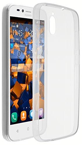 mumbi UltraSlim Hülle für Huawei Y625 Schutzhülle transparent (Ultra Slim 0.55 mm)