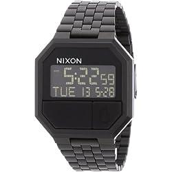 Nixon Reloj Digital de Cuarzo Unisex con Correa de Acero Inoxidable Chapado – A158001-00