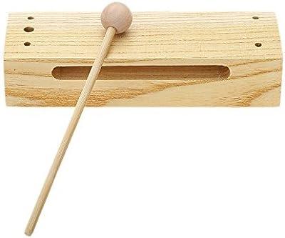 Quatro Percussion Wood Block Woodblock con Mallet