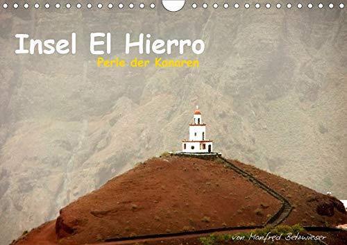Insel El Hierro - Perle der Kanaren (Wandkalender 2020 DIN A4 quer): Eine Insel mit Gegensätzen. Von sonnenverbrannten Steinwüsten aus erstarrter Lava ... (Monatskalender, 14 Seiten ) (CALVENDO Orte) -