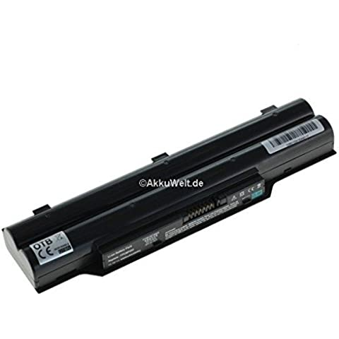 Sostituzione della batteria per Fujitsu-Siemens life CP477891-01 CP477891-03 CP478214-02 FMVNBP186