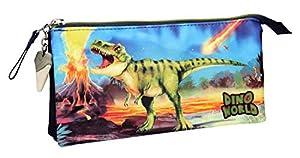 Top Model- Estuche Tubular Dino World (0010449), (DEPESCHE 1)