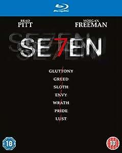 Seven [Blu-ray + UV Copy] [1995] [Region Free]