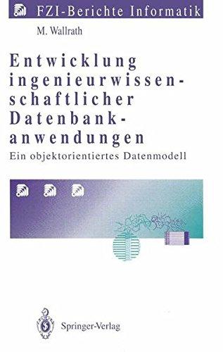 Computer-base-einheiten (Entwicklung ingenieurwissenschaftlicher Datenbankanwendungen: Ein objektorientiertes Datenmodell (FZI-Berichte Informatik))