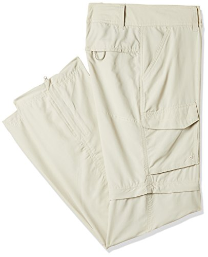 Columbia Stretch Shorts (Columbia Damen Zip-Off Hose Silver Ridge Convt. Full Leg, fossil, 32, AL8002)