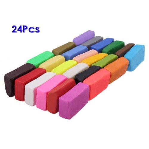 sonline-colore-misto-24-morbido-sculpey-forno-cuocere-polimero-modellazone-blocchi