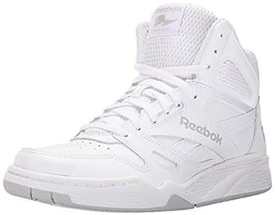 Reebok Men's Royal Bb4500h Xw Fashion Sneaker, White/Steel, 10.5 4E US