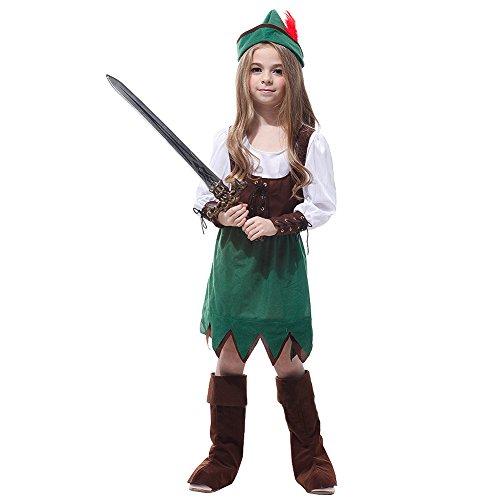 Kids Pirat Robin Hoods Halloween Party (Hood Frauen Robin Kostüme)