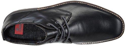 Rieker B1340, Desert boots homme Noir (Schwarz/granit)