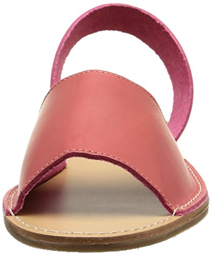 Pieces Evey, Sandales femme Rouge (Mineral Red)